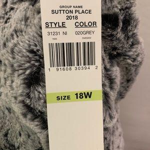 Alfred Dunner plush jacket